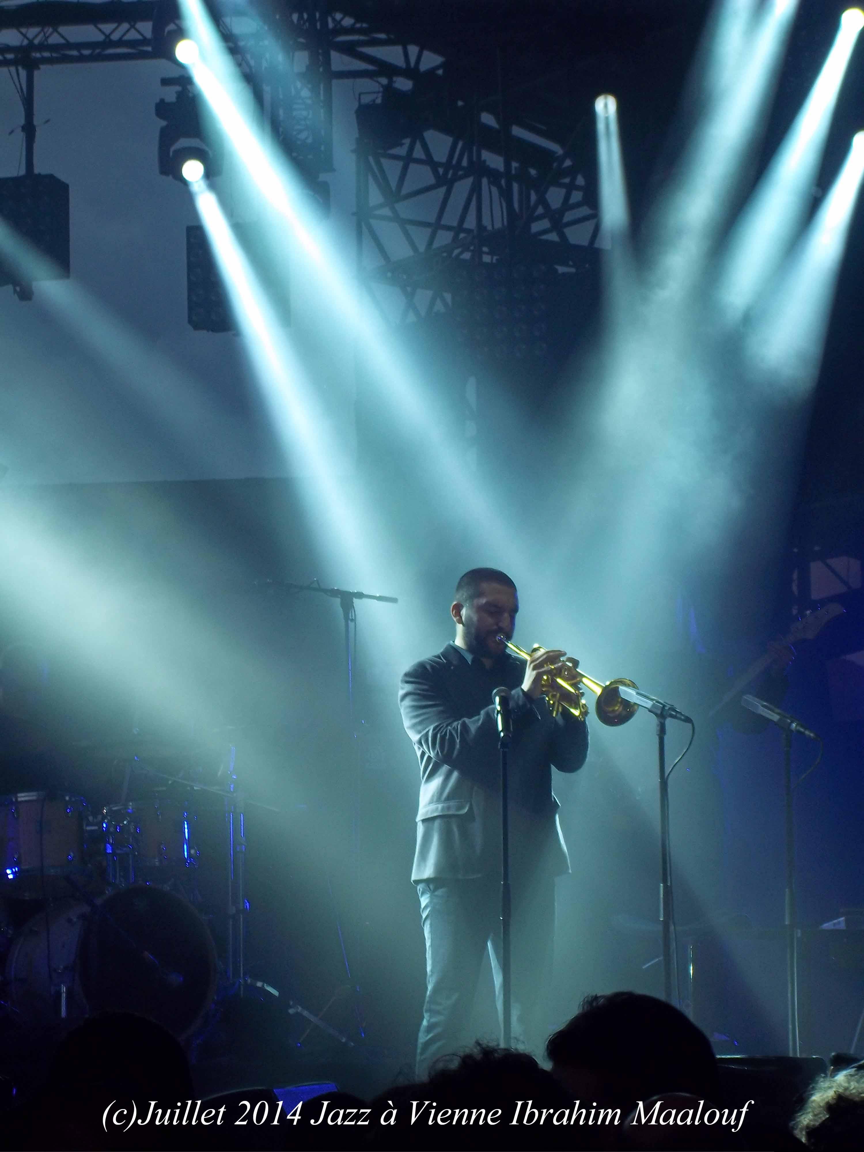Ibrahim Maalouf Jazz à Vienne 2014
