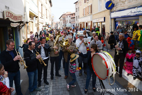 Carnaval St just St Rambert 2014